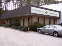 Continental Carbonic Products Inc, manufacturer & distributor of dry ice, 300 Shirley Way Atlanta, GA 30336