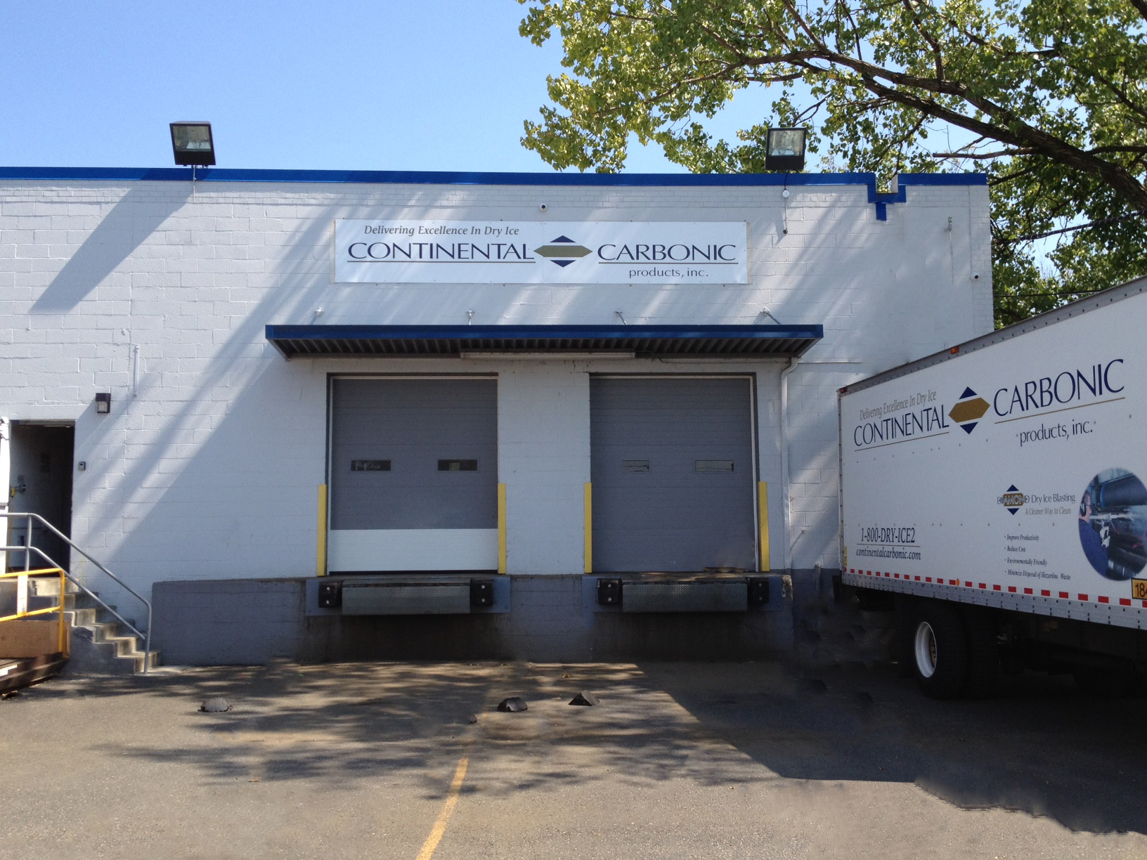 Continental Carbonic, manufacturer of dry ice, is located at 435 Oehler Place, Carlstadt, NJ 07072.