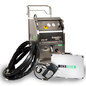 IceTech Elite 20 Three Quarter Dry Ice Blasting Machine