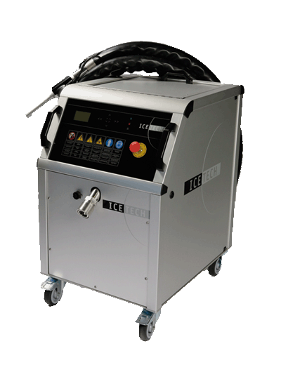 IceTech KG50PRO Heavy Duty Dry Ice Blasting Machine available from Continental Carbonic