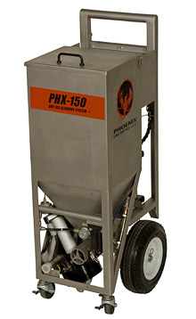 Phoenix Phx 150 Pneumatic Dry Ice Blaster Available From