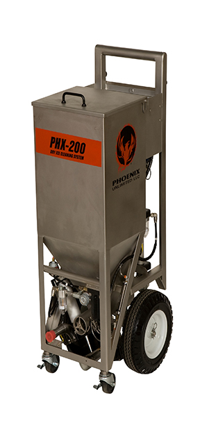 Phoenix PHX-200 Dry Ice Blasting Machine