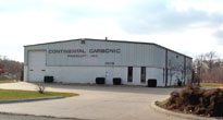 Continental Carbonic, manufacturer of dry ice, is located at 4075 Ralph Jones Drive South Bend, Indiana 46628.
