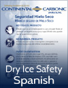 dry ice safety brochure spanish
