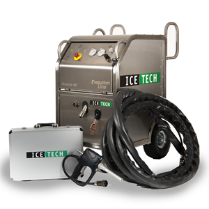 IceTech Xtreme 40 Three Quarter Dry Ice Blasting Machine