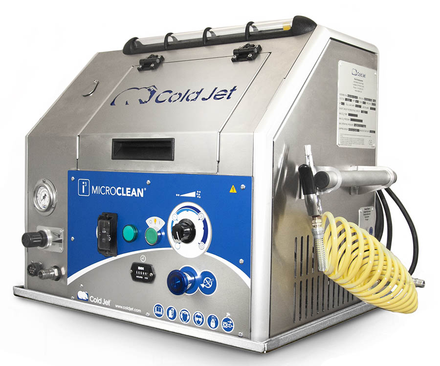 Cold Jet i3 Microclean DX Dry Ice Blasting Machine