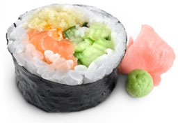 Dry Ice for Sushi and Tuna
